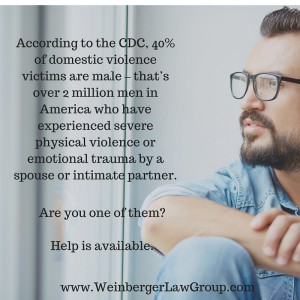 when men are victims of domestic violence