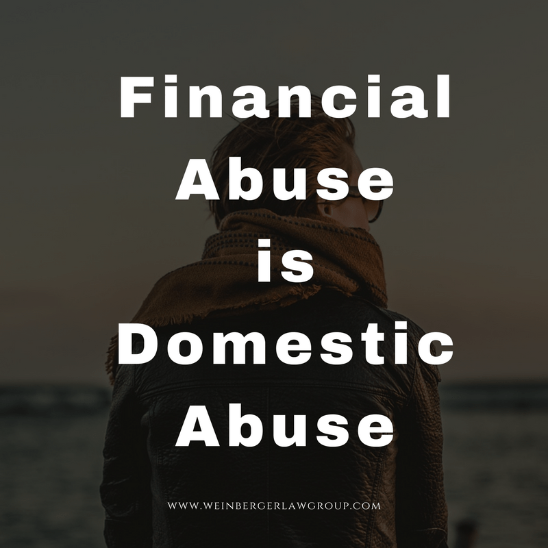 financial abuse is domestic abuse