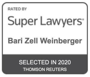 Bari Weinberger Super Lawyers 2020